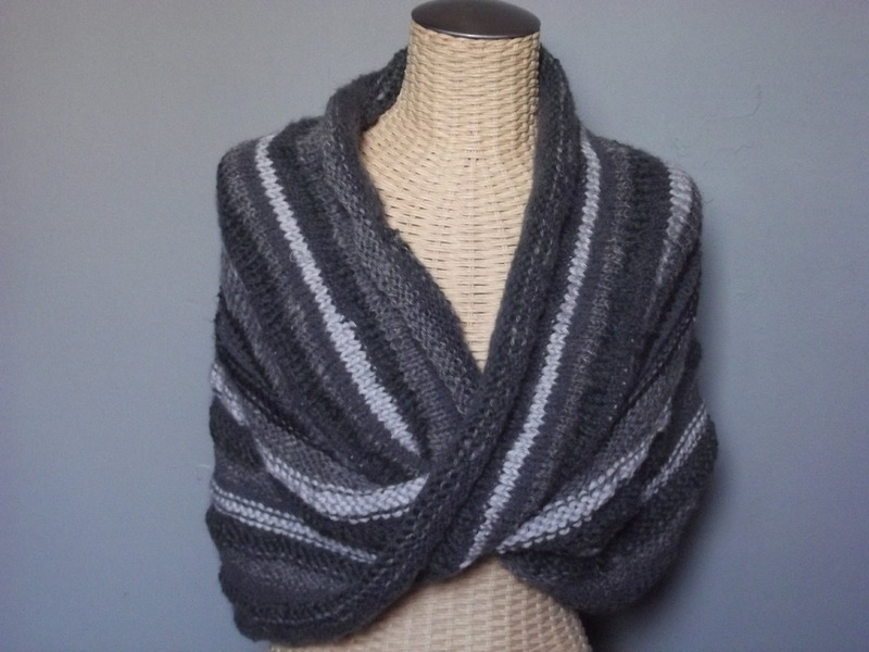 comment tricoter un cache epaules